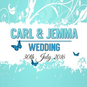 Carl & Jemma wedding reception