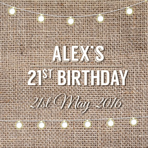Alex's 21st Party