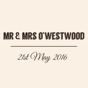 Mr & Mrs O'Westwood