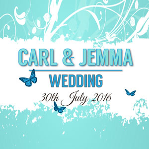 Carl & Jemma wedding reception