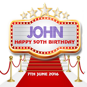 Johns 5oth Celebrations