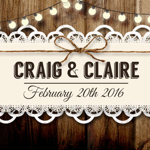 Craig & Claire wedding photos