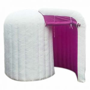 image of our curly inflatable booth
